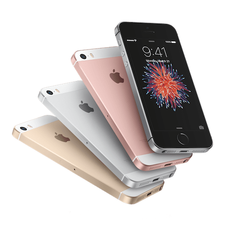 iPhoneSE-4ColorFan-Tprnt